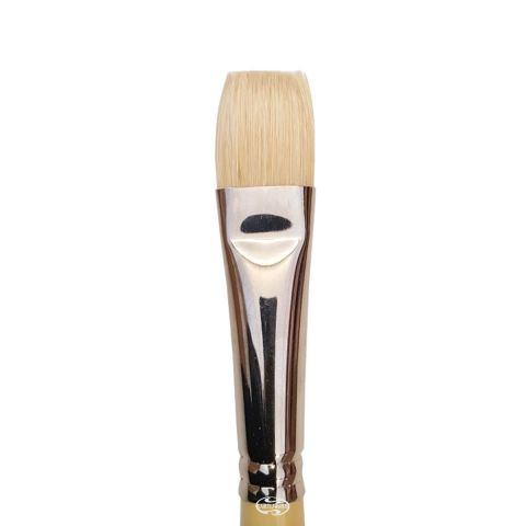 Pro Arte Fine Quality Hog Brush (Series B) Short Flat Single Brush