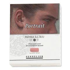 Sennelier 40 Portrait Soft Demi Pastel Box Set. Professional Artists Pastels