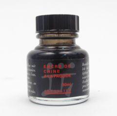 Sennelier Black Indian Ink 30ml