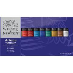 Winsor & Newton Artisan 10 x 21ml Water Mixable Oil Colour Tube Set