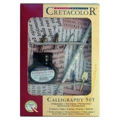 Cretacolor Calligraphy Dip Pen & Ink Box Set