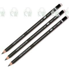 3 X Cretacolor Artists Charcoal Pencils SOFT