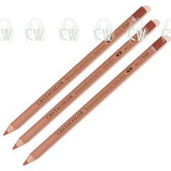 3 X Cretacolor Artists Sanguine Dry Pastel Pencils