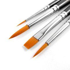 Pro Arte Artists Prolon 4 Brush Set