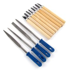 Modelling and Wood Carving Tools Set of 12