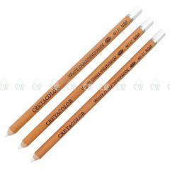 Cretacolor Artists White Chalk Pastel Pencils Set of 3