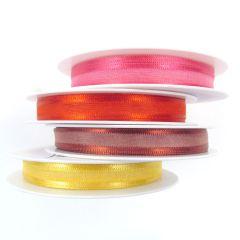 10mm Satin Edged Organza Ribbon Rolls