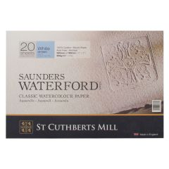 Saunders Waterford Watercolour Paper Blocks NOT (Cold Pressed)