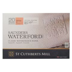 Saunders Waterford Watercolour Paper Blocks HP (Hot Pressed)