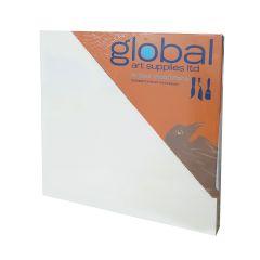 """Global Artists Wooden Panel Natural Unprimed 18mm Deep 12"""" x 12"""""""