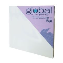 "Global Artists Wooden Panel Gesso Primed 18mm Deep 12"" x 16"""
