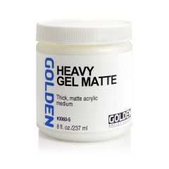 Golden Heavy Gel Matte 236ml