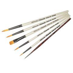 Pro Arte Masterstroke Set C and Curtisward Panache 000 Set of 6 Artists Brushes
