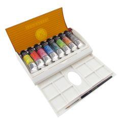 Sennelier Artists Watercolour Tube Travel Box Set 8 x 10ml