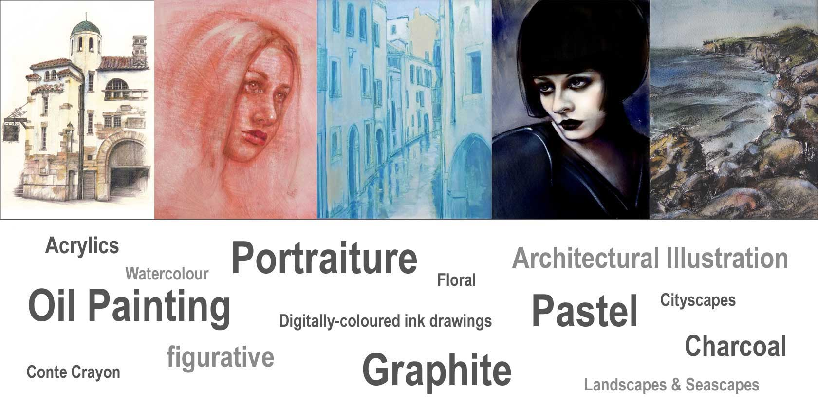 Examples of Artwork by Peter Taylor Ward