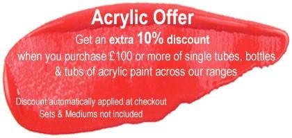 Acrylic Paint Promotion