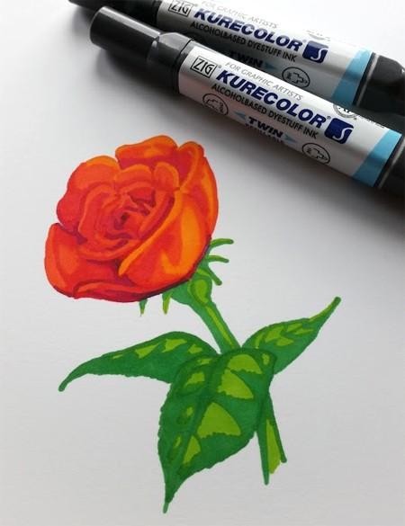 Kurecolor on Botanical Ultra Smooth Paper