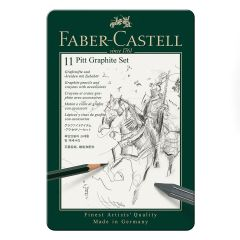 Faber Castell Pitt Graphite Tin Set of 11