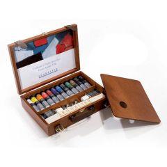 Sennelier Wooden Box Set Artists Oils 12x40ml