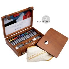 Sennelier Wooden Box Set Artists Oils 15x21ml