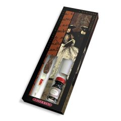 Herbin Venetian Glass Dip Pen Artists Writing Gift Set (28300T)