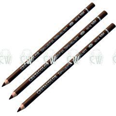 3 X Cretacolor Artists Light Sepia Oil Pastel Pencils