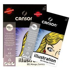 Canson Illustration Pads 250gsm