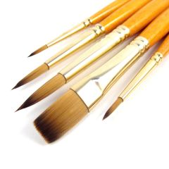 Pro Arte Artists Prolene Plus 5 Brush Wallet Set W2