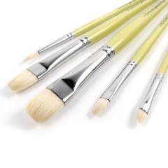 Pro Arte Series B Artists Hog 5 Brush Set W7B