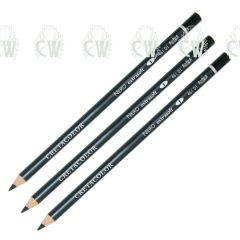 Cretacolor Artists Nero Black Oil Pastel Pencils Set of 3