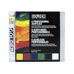Golden Heavy Body Artists Acrylic Introductory Set 6 x 22ml
