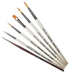 Pro Arte Masterstroke Set B and Curtisward Panache 000 Set of 6 Artists Brushes