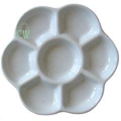 Artists Porcelain Daisy Palette 145mm