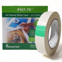 PH770 Archival White single-sided Tape 25mm x 66m