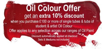 Artist Brush Oil Offer